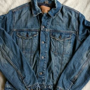 Abercrombie and Fitch Trucker Lined Jean Jacket